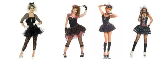 Madonna Costume Collage